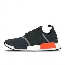 """Men's Adidas NMD R1 S31510 """"WOOL"""" GREY CHARCOAL SOLAR RED SZ 7.5-13 DS LAST SIZE"""