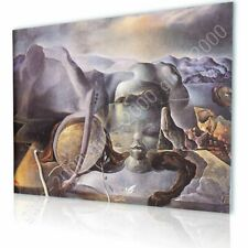 Alonline Art - CANVAS (Rolled) The Endless Enigma Face Salvador Dali Artwork