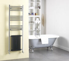 Duke Unique Traditional Victorian Radiator and Chrome Towel Rail Central Heating
