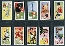 """SWEETULE PRODUCTS 1959 """"FOOTBALL CLUB NICKNAMES"""" TRADE CARDS - PICK YOUR CARD"""