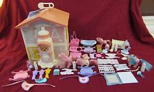 Vintage Lot Of My Little Pony G1 Lullabye Nursery Ponys and Accessories