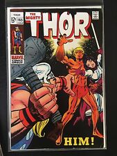 THOR COMIC BOOK # 165 ~ KEY 1st FULL HIM ~ NICE SHAPE SILVER AGE ~ CLEAN BOOK!