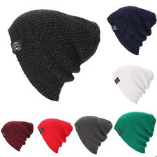 New Beanie Hat Unisex Women Men Fashion Stretch Long Knit Hat W3LE01
