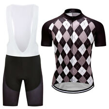 New Mens Cycling Jerseys Bib Shorts Suits Outdoor Bike Sports Wear Size S-3XL