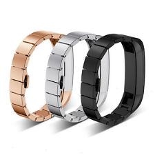 Stainless Steel Watch Band Luxe Accessory Metal Strap For Fitbit Alta Tracker