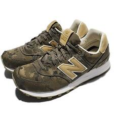 New Balance ML574CMC D Green Camo Leather Men Running Shoes Sneakers ML574CMCD