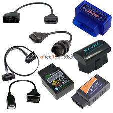 ELM327 Bluetooth Car Diagnostic Wireless Scanner OBD2 3Pin 16 22 38 Pin  Cable