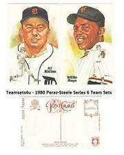1981 Perez-Steele Hall of Fame (HOF) Postcards Series 6 ** Pick Your Team **