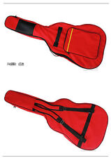 "40""41"" Acoustic Electric Guitar Double Straps Padded Soft Case big Bag Backpack"