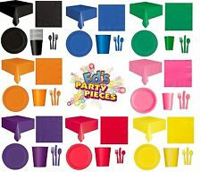 PARTY TABLEWARE - Plates/Cups/Napkins/Tablecovers/Bags/Balloons{Fixed UK p&p}