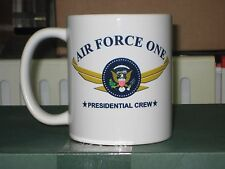 Classic Full Color AIR FORCE ONE PRESIDENTIAL SEAL LOGO 2 Sides White 11oz Mug