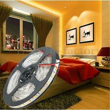 5M Waterproof LED Strip Light 5050SMD 300LEDS Cool/Warm White DC12V Car Party