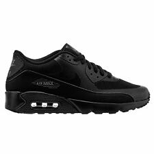 Nike Air Max 90 Ultra 2.0 Essential Black Grey Mens Low Top Trainers