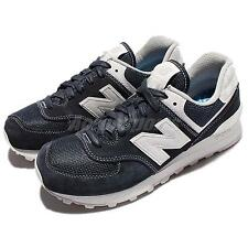New Balance ML574SEE D Blue Suede Classic Men Running Shoes Sneakers ML574SEED