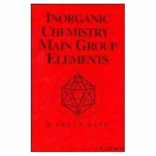 Inorganic Chemistry of Main Group Elements King, R. Bruce