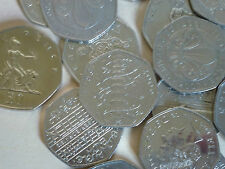 RARE WWF VOTES HASTINGS PETER RABBIT  VARIOUS OTHER COMMEMORATIVE 50p COIN HUNT,