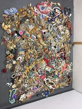 Lot Of Costume Jewelry Vintage To Now 21+ Pounds Rhinestone Wearable Craft