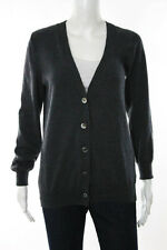 Maison Martin Margiela Dark Gray Wool Long Sleeve Cardigan Sweater Size Large