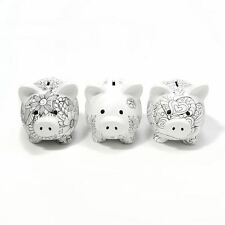 Cupcakes And Cartwheels Ceramic Colour In Piggy Bank ~ Design Varies