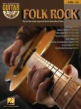 Folk Rock Guitar Play Along 8 Songs Tab Book w/CD Vol 13 Beatles Jim Croce Byrds