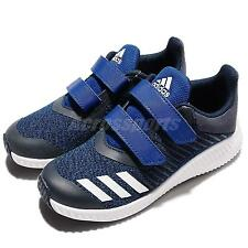 adidas FortaRun CF K Blue Navy Kids Boys Junior Running Shoes Trainers BA7885