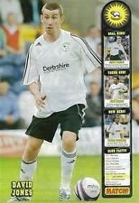 MATCH football magazine player picture poster Derby County - VARIOUS