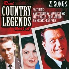 Real Country Legends: Best Of New CD Sealed George Jones Marty Robbins Kitty Wel