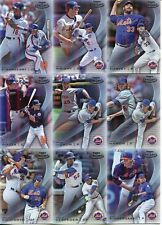 (13) 2016 TOPPS GOLD LABEL CLASS 3, CLASS 2 NEW YORK METS CARD LOT
