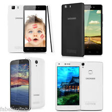 UNLOCKED DOOGEE 3G/4G Smart Phone Android 6.0 Quad Core Dual SIM Mobile TOUCH ID