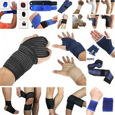 Elbow/Wrist/Knee/Hand/Thigh/Calf Support Brace Arm Pad Guard Bandage Wrap Injury