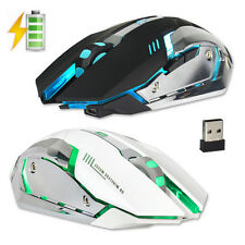 New 2.4Ghz Wireless Optical Gaming Mouse Mice +USB Receiver For PC Laptop Mouse