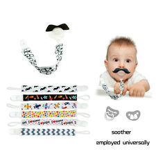 Boy Girl Baby Kids Chain Clip Holders Dummy Pacifier Soother Nipple Leash Strap