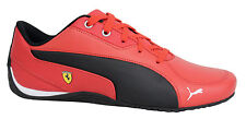 Puma Drift Cat 5 SF Lace Up Red Leather Synthetic Trainers 305679 01 D78