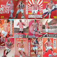 MOTD Match Of The Day football magazine A4 picture poster Stoke City - VARIOUS