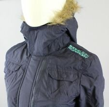 Superdry Arctic Windcheater Women's Jacket Fleece blue turquoise Size XS L/SD683