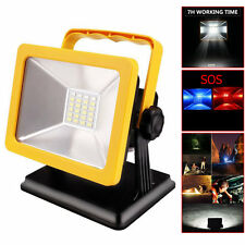 Portable 15W 24Led Rechargeable Camping Spotlights Emergency Work Light Lamp New