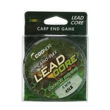 Lead Core Leadcore Braided Fishing Line 45lb 5m Camouflage  Hair Rigs L6Z0