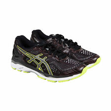 Asics Gel-Kayano 23 Lite Show Mens Black Mesh Athletic Lace Up Running Shoes