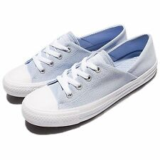 Converse Chuck Taylor All Star Coral OX Blue Women Casual Shoes Sneakers 555897C