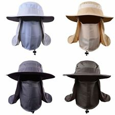 Hiking Fishing Hat Outdoor Sport Sun Protection Neck Face Flap Cap Wide Brim 1PC