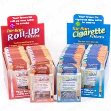 TAR BAN FILTERS Safer Smoking Shop Bought Cigarette/Roll/Tobacco Less Nicotine
