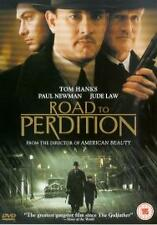 TOM HANKS PAUL NEWMAN JUDE LAW IN ROAD TO PERDITION DVD