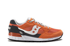SAUCONY Mens Sneakers SHADOW ORIGINAL Orange Fabric Trainers Shoes S70033-87
