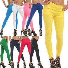 Skin-tight Treggings Leggings pants pants in 3 Sizes 13 Colors