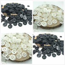 1000X Round Resin 4 Holes Buttons Fit Sewing Scrapbooking Handicrafts 11mm