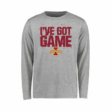 Iowa State Cyclones Youth Ash Got Game Long Sleeve T-Shirt - College