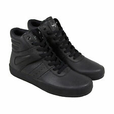 Creative Recreation Moretti Mens Black  High Top Lace Up Trainers Shoes