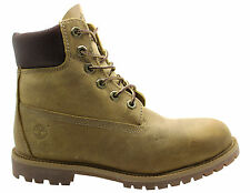 Timberland AF 6 Inch Authentic Womens Burnished Wheat Boots Shoes 27377 T1