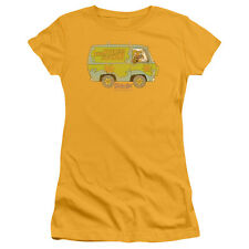 Scooby Doo The Mystery Machine Juniors Short Sleeve Shirt