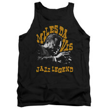 Miles Davis Jazz Legend Mens Tank Top Shirt